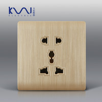 Wholesale Electrical Surge - Surge protector 2014 Free Shipping, Karpinski wall socket, 5 pins universal multi-function power outlet, electrical outlet