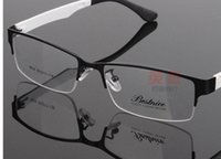 Wholesale Metal Optical Spectacles - Spectacle frame Men Half-Rim Frame myopia glasses optical frame glasses eyewear brand eyeglasses frames men eyeglasses women glasses