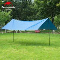 палатка для кемпинга оптовых-Wholesale- Naturehike Sun Shelter UV Poles Waterproof Awning Beach Tent Beach Shade Tarp Pergola Camping Picnic Pergola Sunshade Gazebo