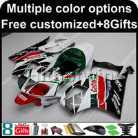 Wholesale Honda Rc51 Body Kits - 23colors+8Gifts Aftermarket ABS Fairing For honda RC51 VTR1000SP1 2000-2006 RC51 00 01 02 03 04 05 06 RED WHITE GREEN Motorcycle Body Kit