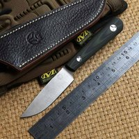 Wholesale Scout Knife Camping - Bolte Scout D2 blade G10 handle fixed blade hunting straight knife leather sheath camp survival outdoors gear tactical EDC knives tools