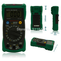 Wholesale Multimeter Ac Voltage - MASTECH MS8233B Pocket Digital Multimeter Multimetro Non-contact AC Voltage Detector with Backlight