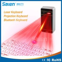 Wholesale Laser Projection Keyboard For Ipad - Portable Virtual Laser keyboard and mouse for Ipad Iphone Tablet PC, Bluetooth Projection Projected Keyboard Wireless Speaker