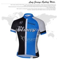 Wholesale Giant Blanco Jersey - Wholesale-free shipping 2015 Blanco Giant short sleeved cycling jersey and shorts set strap riding a bicycle best clothing sports wear