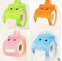 Wholesale The new super cute lazy elf cute fabric tissue box tissue pumping creative household items
