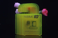 Wholesale Micro Sim Card Cutter 4s - R-SIM 10+ Rsim 10+ Unlock Card for iphone 6s 6 5S 5 4S ios9 9.X 3G 4G CDMA Sprint, AU, Softbank s direct use no Rpatches