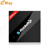 TV Box Android 7.1 RK3328 H96 MAX 4K 2,4 GHz 5,8 GHz WIFI BT4.0 4 GB 32 GB Internet TV Box