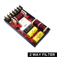 Wholesale 80W HiFi Crossover Filters Way Frequency Divider for Car Audio Speakers
