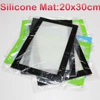 Wholesale Wholesale Cutting Mat - In stock large silicone mat 20x30cm silicone baking mats custom non stick silicone mat with fibferglass silicone cutting mat pad