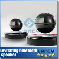 Wholesale Play Battery - Levitating bluetooth speaker Floating bluetooth speaker NFC function 1500 mAh battery built-in, 10 hours playing time free shipping 2pcs
