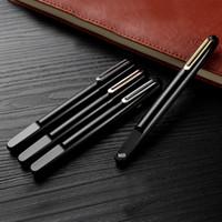caneta esferográfica de alta qualidade venda por atacado-Luxo M série top Resina Magnética Desligamento cap roller ball pen Material de escritório de negócios de alta qualidade escrevendo suave MB canetas presente marca