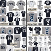Wholesale Cheap Reds Jerseys - Men's #7 Mickey Mantle 3 Babe Ruth 23 Don Mattingly Jersey Top sales Baseball Jerseys Cheap wholesale 100% stitched