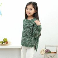 Wholesale Childrens Sweaters Knitted - Good quality,2015 Hot Sale Baby Girls fashion Sweater Childrens Kids Autumn Pullovers Knitting Outerwear Sweaters