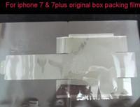 ingrosso fabbrica di mele oem-100pcs i7 Box imballaggio film Protector protezione protettiva hanno anche i6 / i5 Shrink Bag Film OEM fabbrica per iPhone 7 / 7plus 5.5