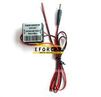 convertidor de coche 24v al por mayor-Hot New DC Car Buck Converter convertidor de potencia para camión autobús autobús 24V a 12V con cable