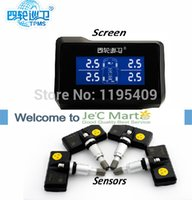 Wholesale New Developed Wireless TPMS With Sensors Internal Installed Sensors Tire Pressure Monitoring System TPMS for Car