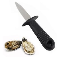 Wholesale Oysters Knife - Professional Oyster Opener Knife Seafood Scallops Multi-knife Oysters Clams Cockles Knife by Arya Stark