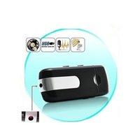 u8 camera usb venda por atacado-U8 usb disk mini câmera dvr u8 motion detection usb flash drive pinhole câmera u disco mini gravador de vídeo suporte tf cartão