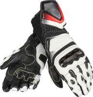 guantes de moto de titanio al por mayor-Pro Titanium Metal RS Leather Glove guantes de moto moto 3 colores Talla M L XL