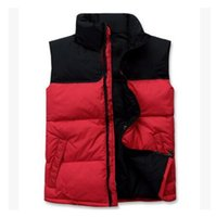 Wholesale Thick Down Vest - Fall- 2017 new Brand double face High Quality Men's Down Vest Down Jacket & Outerwear Coat thick winter sportswear Vest for men