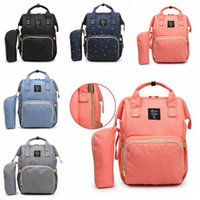 Wholesale Mother Doors - 5 Colors Multifunctional Baby Diaper Backpack Mommy Changing Bag Mummy Backpack Nappy Mother Maternity Backpacks CCA7872 10pcs
