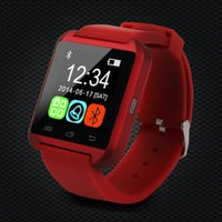 Wholesale Mp3 Camera Watch Cell Phone - U8 Smartwatch phone U8 Smart Watch Uwatch USmartwatch with Phonebook Call MP3 Alarm Samsung S6 S5 Andriod Cell Phone DHL Free