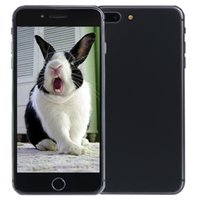 Wholesale V4 Android - Space Gray Goophone i8 Plus V4 Touch ID 4G LTE 64-Bit Quad Core MTK6735 2GB 16GB+32GB Android 6.0 5.5 inch IPS 1280*720 HD WiFi Smart Phone