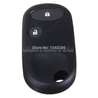 Wholesale Key Fob Remote Cover - 2 Buttons Black Remote Key Case Shell Cover Fob For Accord for Jazz for Honda for Civic for CRV small order no tracking