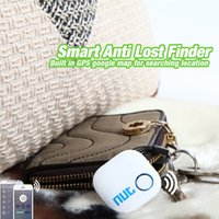 Wholesale Phone Tags - 2 pcs A Lot Free Shiping white Nut 2 smart tag bluetooth anti-lost tracker tracker key pet child phone finder locater alarm