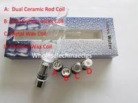 Wholesale water hookah pipe pen for sale - Glass Shisha Atomizer Water Pipe Dual Wax Vaporizer e hookah pen wax pen vaporizers fit EGO Evod battery for E Cig