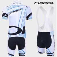 Wholesale Cheap Orbea - Wholesale-variety of colors 2015 Orbea short sleeved cycling jersey and bib shorts set strap riding a bicycle cheap clothing sports wear