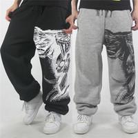 Wholesale Movement Order - 2016 Skull skateboard hip-hop movement pants men's cotton trousers joggers pants loose hip-hop pants for man mix order