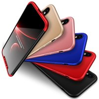 Wholesale Dhl Free Shipping Iphone Cases - New All-inclusive Phone Case Shield Three-stage For iphone X 8 8P 7  7 plus 6s plus with Retail Package DHL Free Shipping