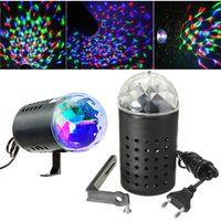 Wholesale Disco Laser Lights Prices - Best Price 3W RGB Rotating Crystal Magic Ball Laser Stage Lighting Effect Party Disco DJ Bar Bulb Lamp Light 220V EU Plug