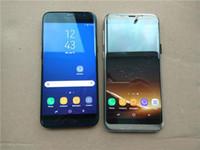 hdc gold großhandel-HDC Goophone S8 + entsperrte Handy Quad Core Android 6.0 1G Ram 16G Rom zeigen Octa Kern 64GB ROM Show 4G LTE Smartphone