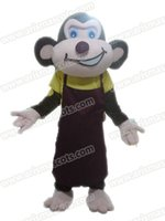 Wholesale Monkey Mascot Costume Adult - AM9202 Monkey mascot costume Fur mascot suit animal mascot outfit adult fancy dress