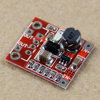 Wholesale Wholesale Boost Mobile Phones - Wholesale-F85 Free Shipping 5pcs lot New 1A 3V to 5V DC-DC Converter Step Up Boost Module