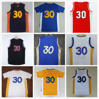 Wholesale Green Rev - 17 styles 30 New Jerseys New Material Rev 30 Embroidery All Tags Shirt Basketball Jersey