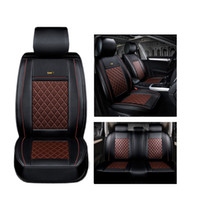 Wholesale vw beetle seat resale online - Front Rear Luxury Special Leather car seat cover For Volkswagen vw passat polo golf tiguan jetta touareg car styling