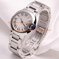 Wholesale Fine Business - AAA factory Ballon W69010Z4 Stainless Steel Wristwatches Fine Quality 28MM women quartz movement Lady Watch watches womens watch