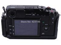 Wholesale Fuji X Pro1 - Wholesale-L Style Vertical Shoot Tripod Quick Release Plate Camera Support Holder Bracket for Fujifilm Fuji X-PRO1&Ballhead