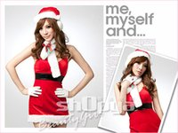 Wholesale Sexy Doll Movies - 2014 Merry Christmas Holiday Lovely sweetyC hristmas Costumes Doll-collar princess dress Sexy Costume Singing Ennanna X1189