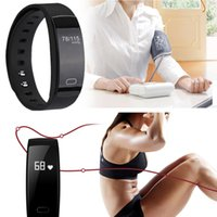 Wholesale Tonometer Blood - ZUCOOR Smart Bracelet Fitness Band Heart Rate RB31 Pulse Blood Pressure Tracker Watch Pedometer Pulsera Inteligente Tonometer