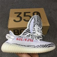 Wholesale French Tables - Boost 350 V2 Zebra Black White for Mens Womens 2017 new Boost French Monta SPLY 350 V2 Zebras Running Shoes With Box 36-47