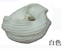 Wholesale Cable Knit Scarfs - 2016 12 colors Women Winter Warm Infinity single Cable Knit Cowl Neck Long Scarf Shawl AL01