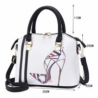 Hot Design Donna Personaggi Modello Borsa Lady Fashion Style Messenger Bag Borsa da sera fresca Casual Tote di colore