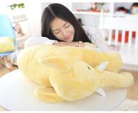 Wholesale elephant puppet resale online - Cartoon cm Large Plush Elephant Toy Kids Sleeping Back Cushion stuffed Pillow Elephant Doll Baby Doll Birthday Gift for Kids