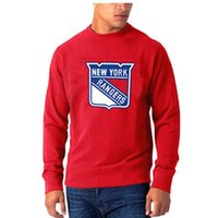 Wholesale Cheap Nylon Gears - Rangers Red Round Neck American Hockey Jerseys Profession Hockey Uniforms Cheap Hockey Wears High Quality Hockey Gears Athletic Appearl
