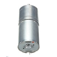 Wholesale Electric Gear Motor High Torque - Best Sales High Quality 100RPM 12V for DC High Torque Gear Box Speed Control Speed Reduction Electric Motor