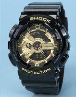 Wholesale Led Pointer Watch Mens - Popular Mens Summer G Sports GA110 Watches LED Waterproof Climbing Digital S Shock Men 100 Watch All Pointer Work Original Box Drop Shipping